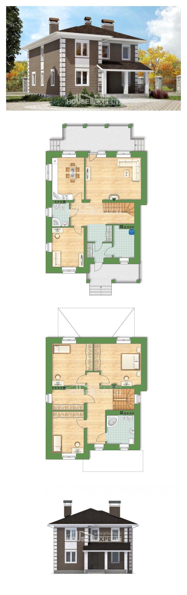 Проект дома 185-002-П   House Expert