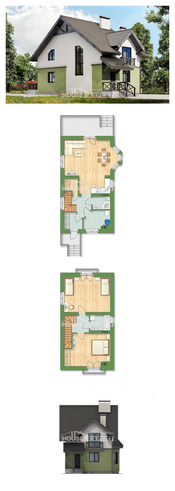 Проект дома 120-003-П | House Expert